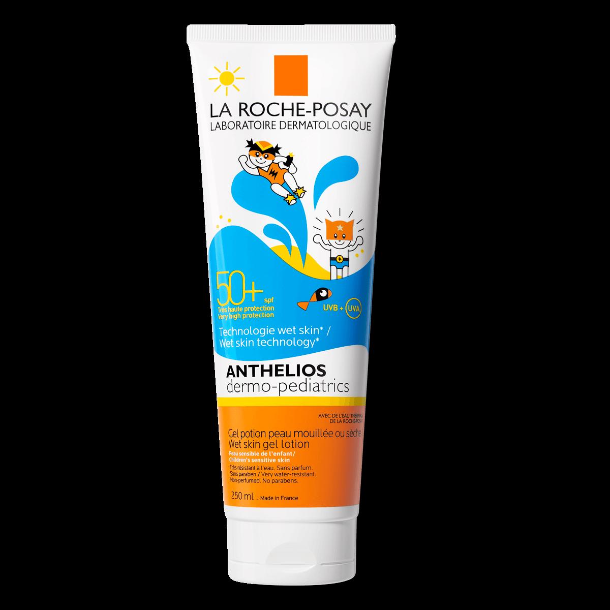 La Roche Posay ProduktSide Sol Anthelios Gel til våd hud Dermo Pædiatri