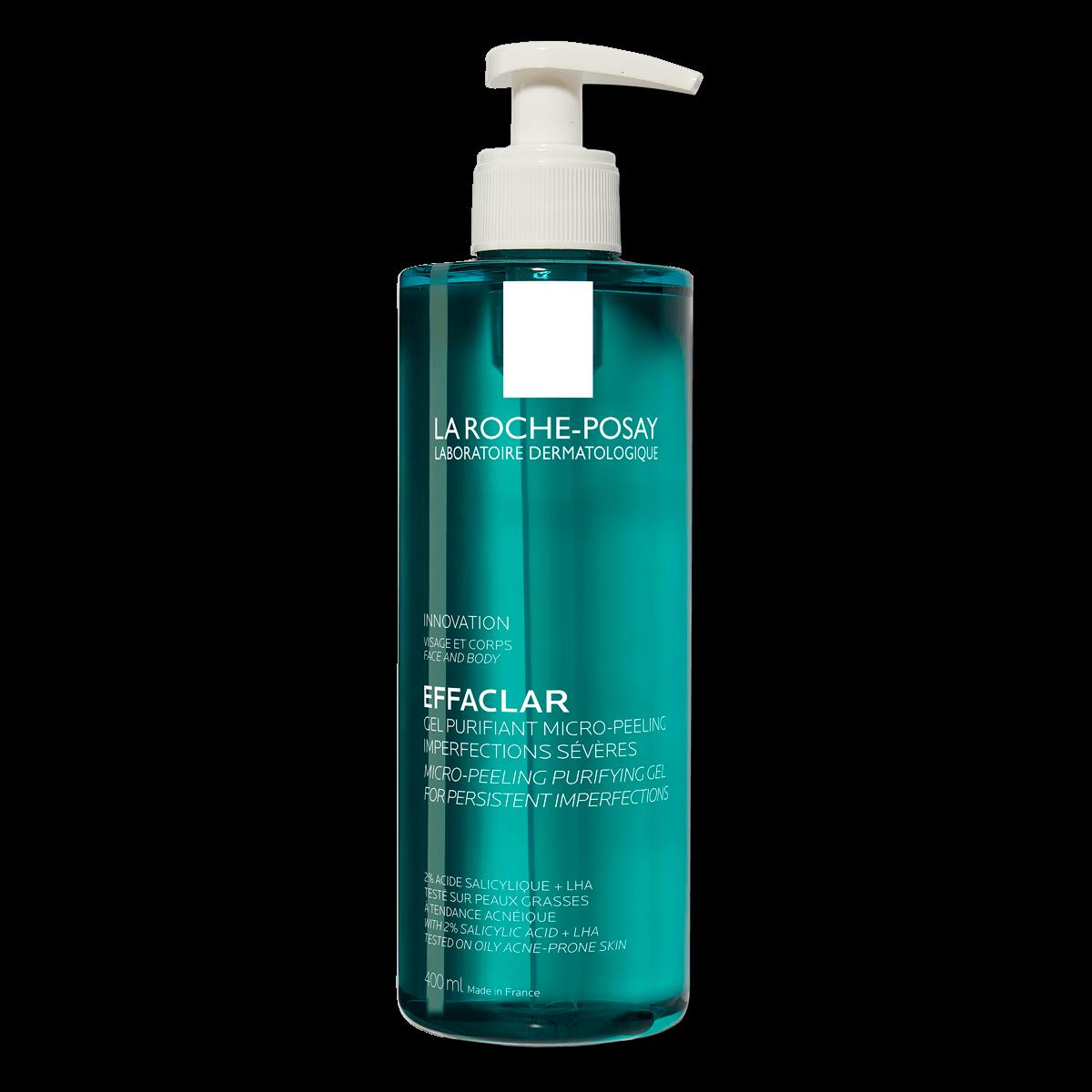 Effaclar Micro Peeling Rensende Gel 400ml 2% Salicylsyre Fedtet hud FSS