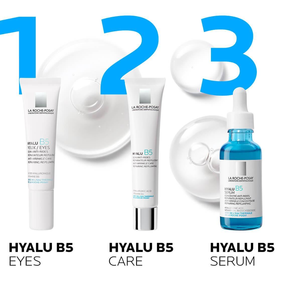La Roche Posay ProduktSide Anti-Age Hyalu B5 Serum 30ml 333787558362 rutine