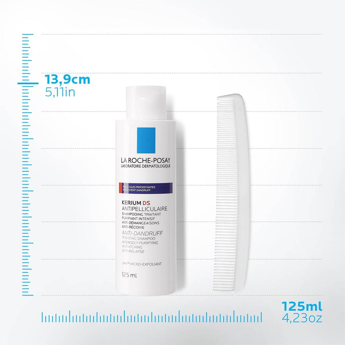 La Roche Posay ProduktSide Kerium DS Anti-skælplejesshampoo 12