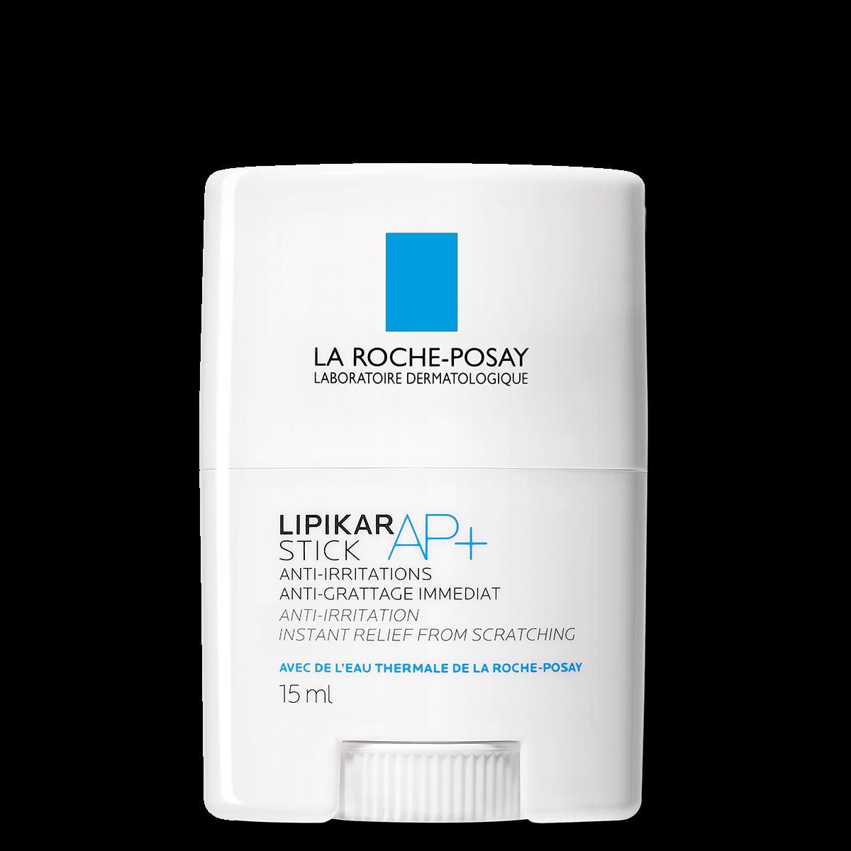 La Roche Posay Kropspleje Lipikar Stick AP 15ml Irriteret Kløe forårsaget af tørhed E