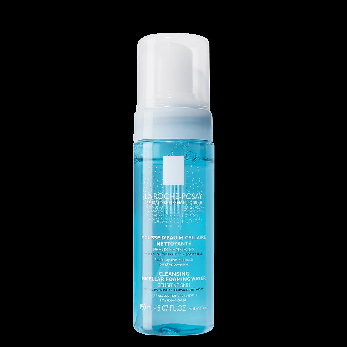 La Roche Posay ProduktSide Ansigtsrens Fysiologisk skummende vand 1