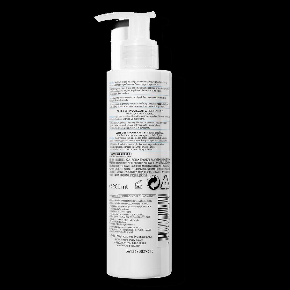 La Roche Posay ProduktSide Ansigtsrens Fysiologisk makeupfjerner