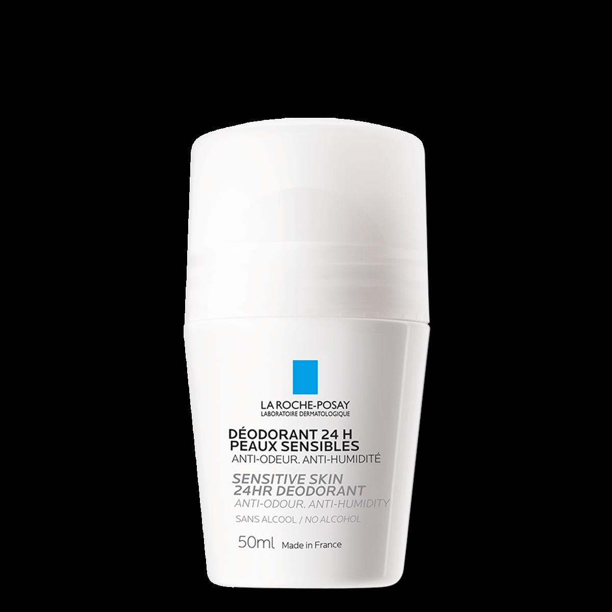 La Roche Posay Deodorant Fysiologisk Roll-On 24 timer 50 ml 3337872412158