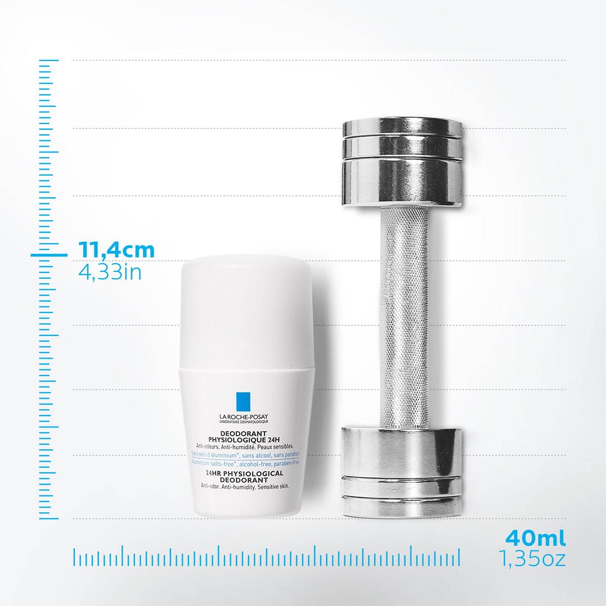 La Roche Posay ProduktSide Deodorant Fysiologisk Roll-On 24h 50ml 33
