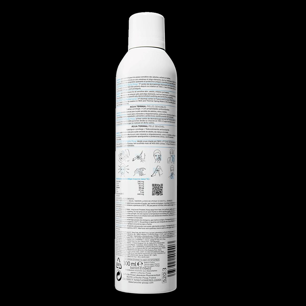 La Roche Posay ProduktSide Termalsk kildevand 300ml 3433422404403 Ba