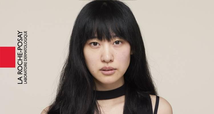 La Roche Posay Sensitiv Toleriane Makeup Novalip Zhen før