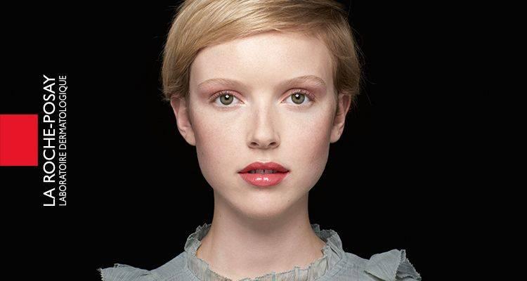 La Roche Posay Sensitiv Toleriane Makeup Elfenben Audrey Efter