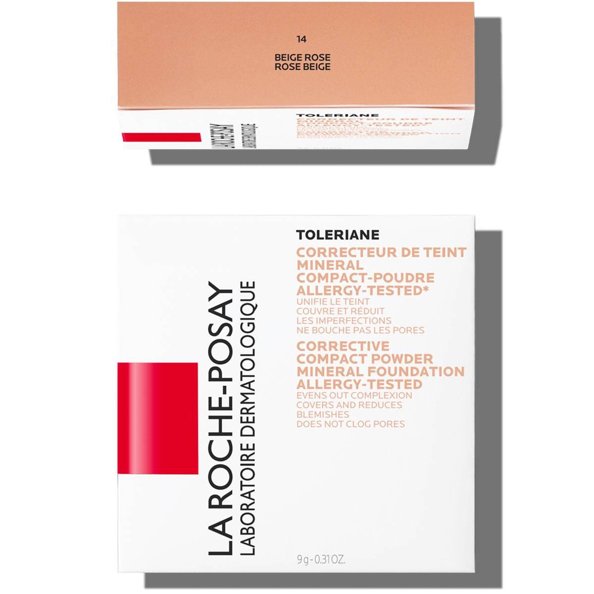 La Roche Posay Sensitiv Toleriane Makeup KOMPAKT PUDDER 14RoseBeige
