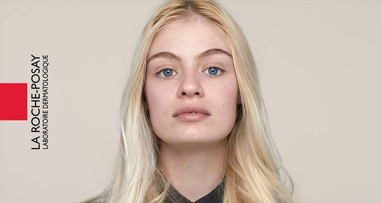 La Roche Posay Sensitiv Toleriane Makeup Let Beige Chloe Før