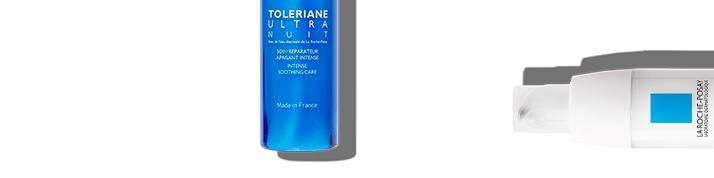 La Roche Posay sensitiv hud tolerance serie sidehoved